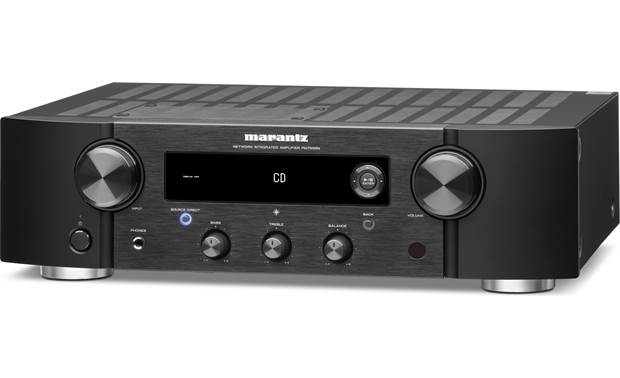Marantz PM7000N - Integrated Stereo Amplifier with HEOS Built-in, Bluetooth®, and Apple® AirPlay® 2 - Best Home Theatre Systems - Audiomaxx India