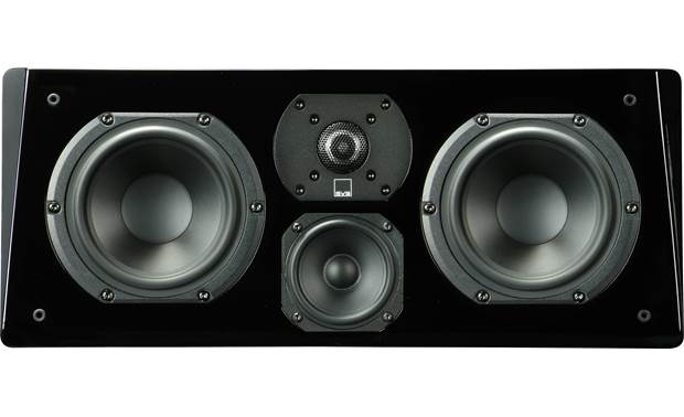 SVS Prime Center - Center Channel Speaker (Piano Gloss Black) - Best Home Theatre Systems - Audiomaxx India