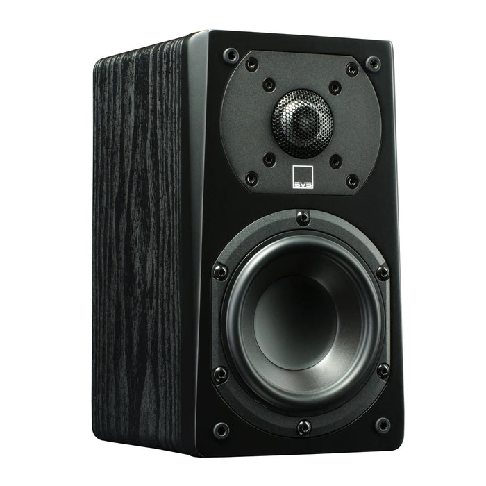 SVS Prime Satellite - Compact Satellite Speakers (Premium Black Ash) - Pair - Best Home Theatre Systems - Audiomaxx India