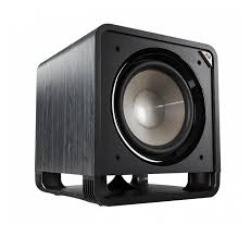 Polk Audio HTS 12 Powered Subwoofer 12 Inch - 400w Class 'D' - Down Firing Ported Design - Black - Best Home Theatre Systems - Audiomaxx India