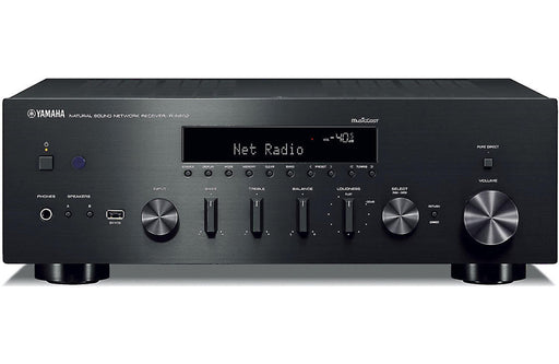 Yamaha RN602 Network Stereo Amplifier With Wi-Fi®, Bluetooth®, MusicCast - Best Home Theatre Systems - Audiomaxx India