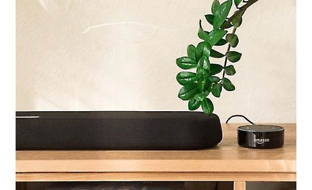 Yamaha YAS-109 Powered Soundbar with Built-In Subwoofers, DTS® Virtual:X, and Amazon Alexa Built-In - Best Home Theatre Systems - Audiomaxx India