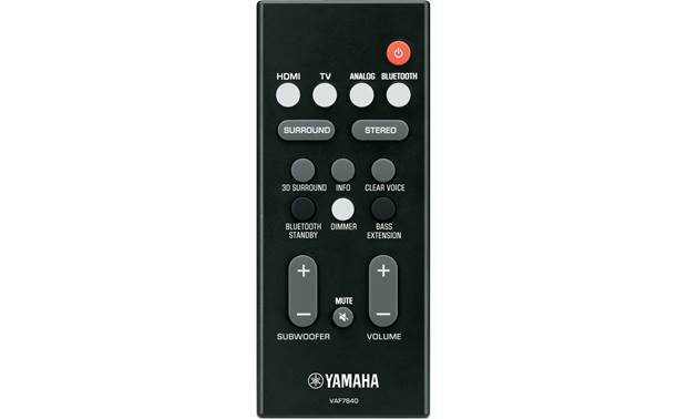 Yamaha YAS-109 All in once Soundbar with Built-in Subwoofer, Virtual DTS-X, Dolby Audio, 4K, Bluetooth, Wi-Fi, Spotify - Audiomaxx India