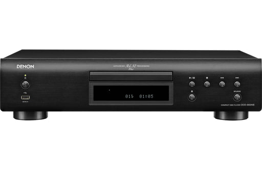 Denon DCD-800NE CD Player With Integrated USB Port Powerful Processing Plays All Modern File Formats Vibration-Resistant Audio Reproduction - Best Home Theatre Systems - Audiomaxx India