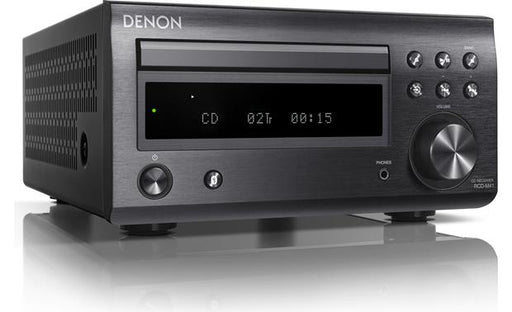 Denon RCD-M41 CD/FM Micro Desktop Stereo Amplifier System With Bluetooth® (Speakers Not Included) - Best Home Theatre Systems - Audiomaxx India