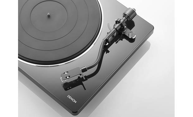 Denon DP-400 Fully Automatic Hi-Fi Turntable, Speed Auto Sensor, Pre-Mounted Cartridge, Phono Equalizer, Straight Tone Arm - Best Home Theatre Systems - Audiomaxx India