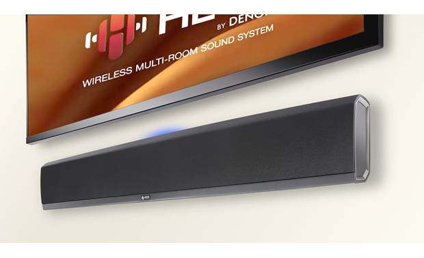Denon HEOS DHT-S716 SoundBar Wireless Music System With 4k HDR Passthrough And Bluetooth® - Best Home Theatre Systems - Audiomaxx India