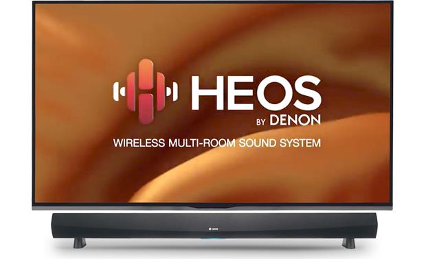 Denon HEOS SoundBar Home Cinema HS2/DHT-516 With Wireless Subwoofer - Gear up For Truly Wireless Music Experience - Best Home Theatre Systems - Audiomaxx India