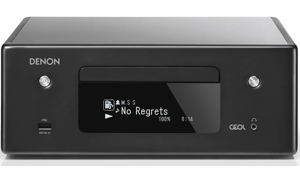 Denon CEOL RCDN10 Compact HiFi Network Stereo Amplifier With FM, Built-In CD Player+Elac Debut Series B5.2 Bookshelf Speakers - 2.0 Stereo Music System # AM200050 - Best Home Theatre Systems - Audiomaxx India