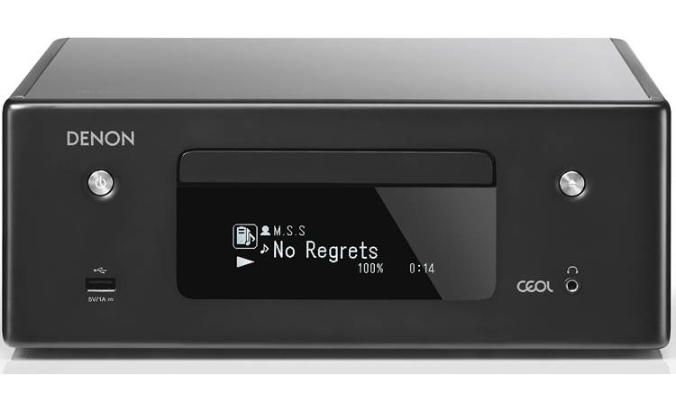 Denon CEOL RCD-N10 Compact Stereo Amplifier With Built-In CD Player, Bluetooth®, Apple® Airplay®2, And HEOS - Best Home Theatre Systems - Audiomaxx India