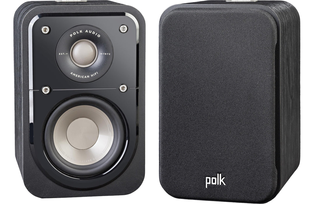 Polk Audio s10 Satellite x 4 Speakers + S35 Slim Center Speaker - Dolby 5.0 Ch Speaker Package # SP034 - Best Home Theatre Systems - Audiomaxx India