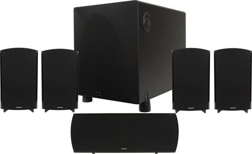 Definitive Technology Procinema 1000 Plus Satellite / OnWall Speakers With 10 Inch ProSub 1000 Powered Subwoofer - Dolby 5.1 Speaker Package # SP011 - Best Home Theatre Systems - Audiomaxx India