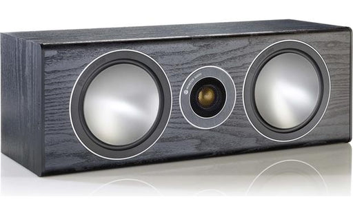 Monitor Audio Bronze Center Speaker 120w - Black - Best Home Theatre Systems - Audiomaxx India