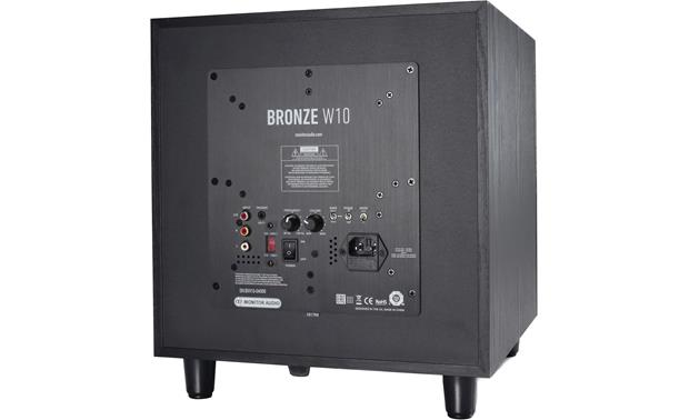 Monitor Audio Bronze W10 Powered Subwoofer 200w -Black - Best Home Theatre Systems - Audiomaxx India