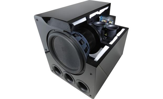 SVS PB16-Ultra Powered Subwoofer 16 Inch 1500w Peak Output With App Control -Piano Gloss Black - Best Home Theatre Systems - Audiomaxx India
