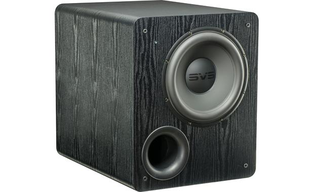SVS PB2000 12 inch Powered Subwoofer 1100w Peak Power- Black Ash - Best Home Theatre Systems - Audiomaxx India