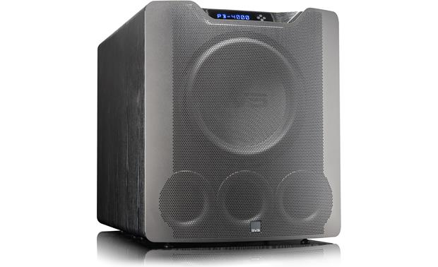 SVS PB4000 Powered Subwoofer 1200w Peak Power With App Control - Black Ash - Best Home Theatre Systems - Audiomaxx India