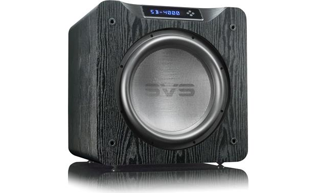 SVS SB4000 Powered Subwoofer 13.5 Inch 4000w Peak Output With App Control -Black Oak - Best Home Theatre Systems - Audiomaxx India