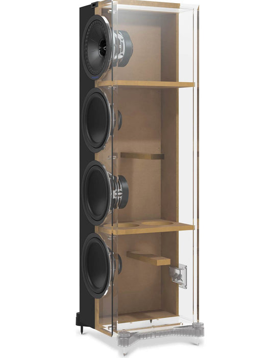 KEF Q550 Tower Speaker 130w x 2 - Pair - Best Home Theatre Systems - Audiomaxx India