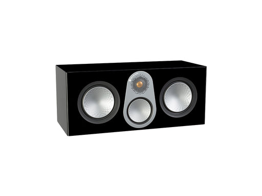 Monitor Audio Silver C350 Center Speaker 200w - High Gloss Black - Best Home Theatre Systems - Audiomaxx India