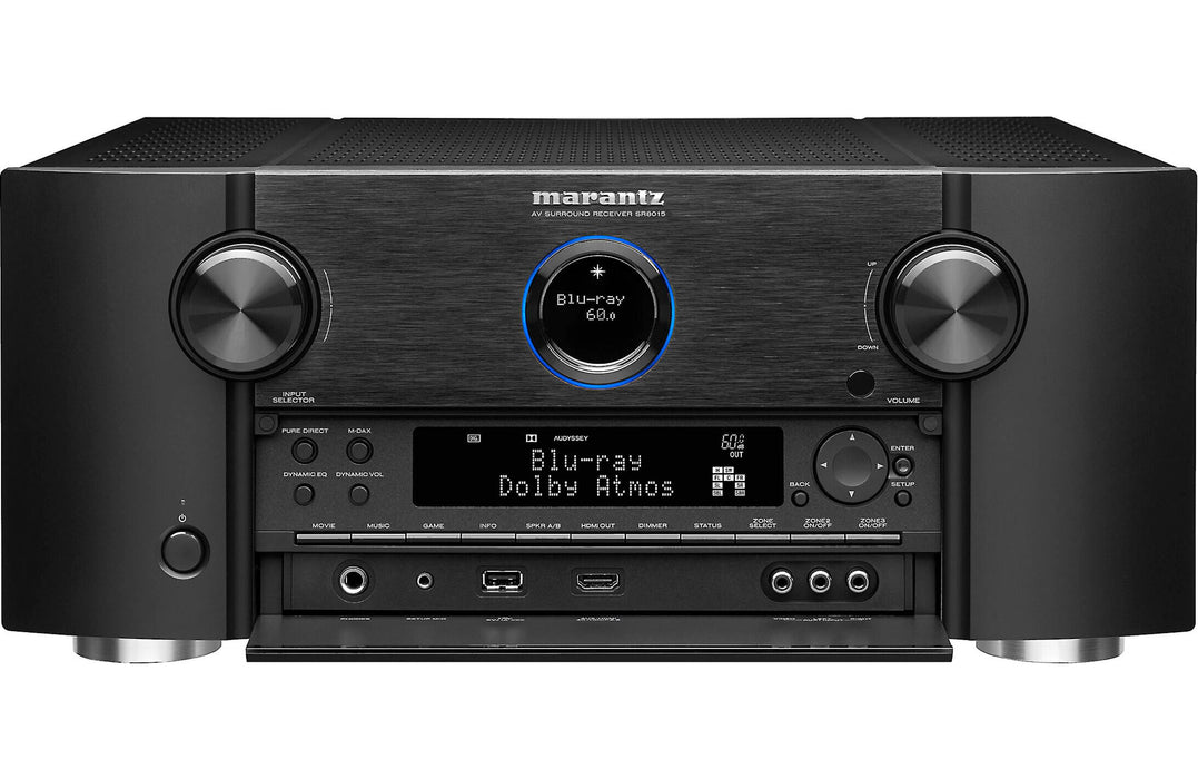Marantz SR8015 11.2-Channel Home Theater Receiver With Dolby Atmos®, Wi-Fi®, Bluetooth®, Apple AirPlay® 2, and Amazon Alexa compatibility