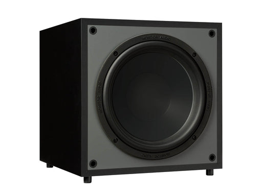 Monitor Audio MRW 10 Subwoofer 100w Active Powered - Black - Best Home Theatre Systems - Audiomaxx India
