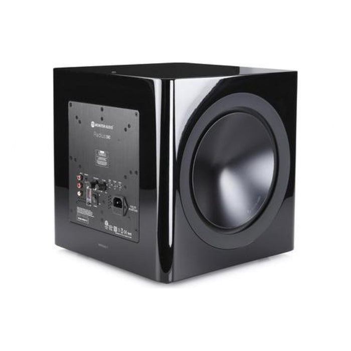 Monitor Audio Silver W12 Powered Subwoofer 500w Auto Room Correction - High Gloss Black - Best Home Theatre Systems - Audiomaxx India
