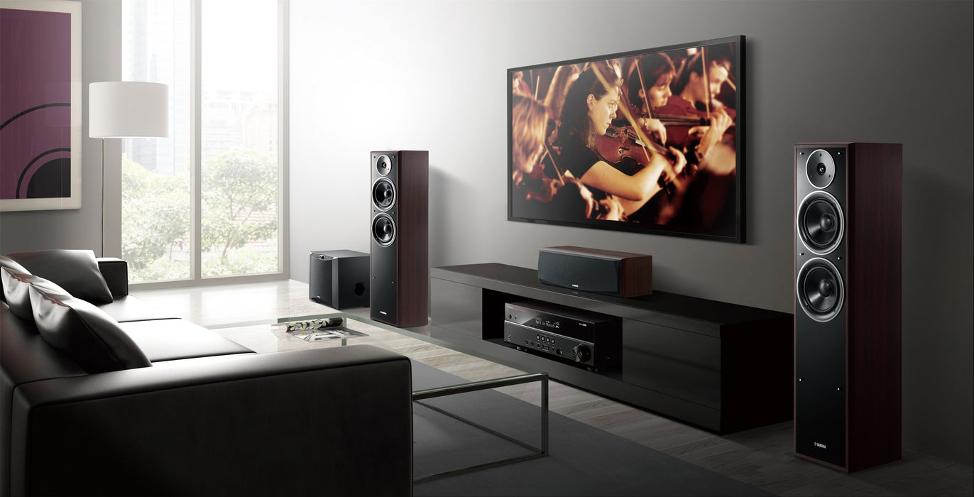 Yamaha Livestage NSF71 Home Theatre Package With Yamaha AVR RXA880 Audio-Video Receiver - Dolby 7.2 Home Theater Package
