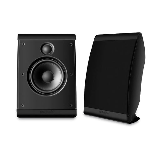 Polk Audio OWM3 Speakers 100w Compact On-Wall OR On-Shelf, With Stand, Multi Purpose - Multi Angle – Pair - Best Home Theatre Systems - Audiomaxx India