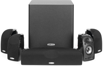 Polk Audio TL1600 Blackstone 5.1 Ch Satellite Subwoofer Speaker Package - Best Home Theatre Systems - Audiomaxx India