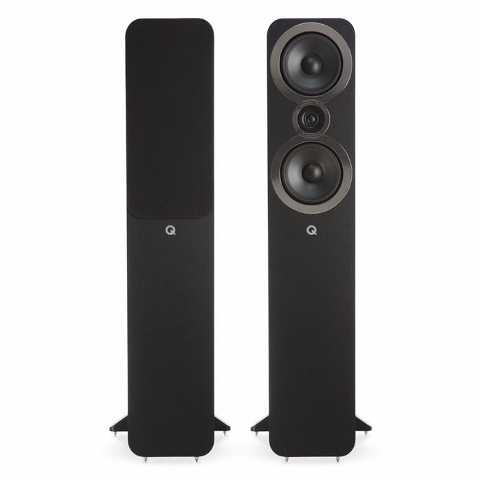 Denon X3600H Audio-Video Receiver + Q Acoustics Q3050i Speaker Set + BenQ W5700 4K Projecor - Dolby Atmos 9.2 Home Theater Package # AM902002 - Best Home Theatre Systems - Audiomaxx India
