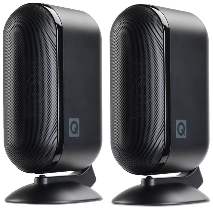 Q Acoustic Q 7000i Satellite/ OnWall Speakers SetWith Wall Mounts Included -  Dolby 5.1 Surround Sound Speaker Package # SP032 - Best Home Theatre Systems - Audiomaxx India