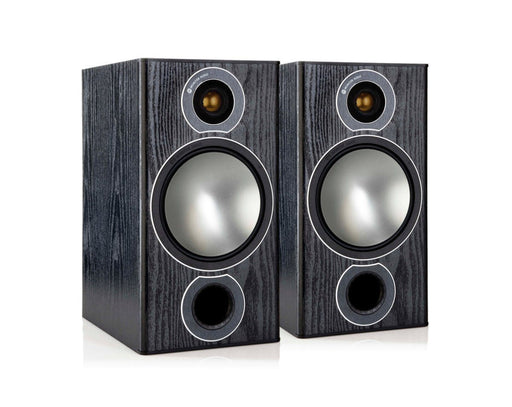 Monitor Audio Bronze2 Bookshelf Speakers Pair 100w x 2 - Black - Best Home Theatre Systems - Audiomaxx India
