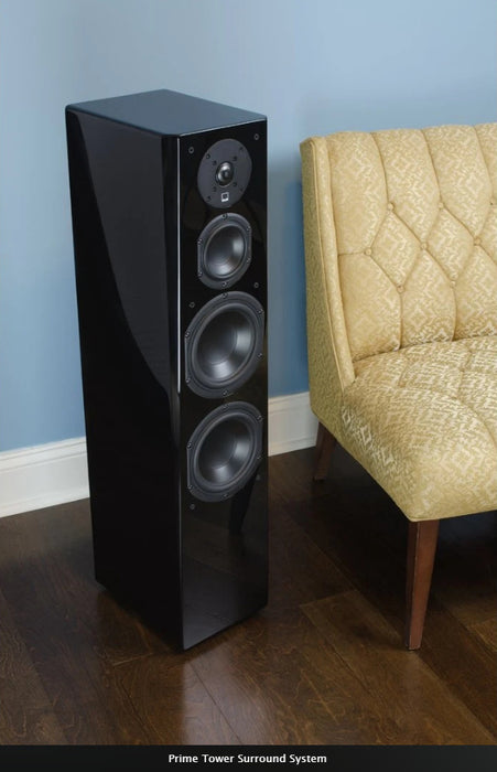 SVS Prime TowerSpeaker Set - Dolby 5.0 Surround Sound Speaker Package  # SP066 - Best Home Theatre Systems - Audiomaxx India