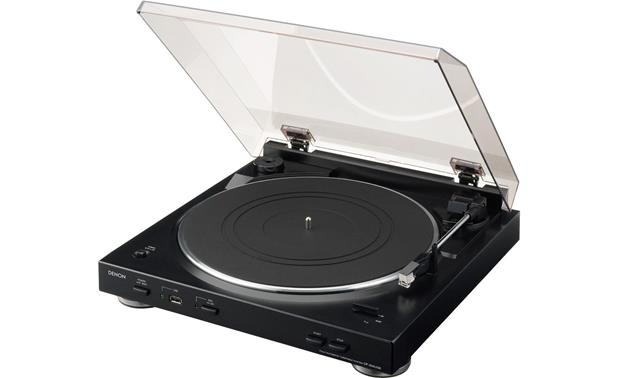 Denon DP-200USB Fully Automatic Turntable Belt Driven With USB Port Built-in Mp3 Encoder & Phono Equalizer - Best Home Theatre Systems - Audiomaxx India