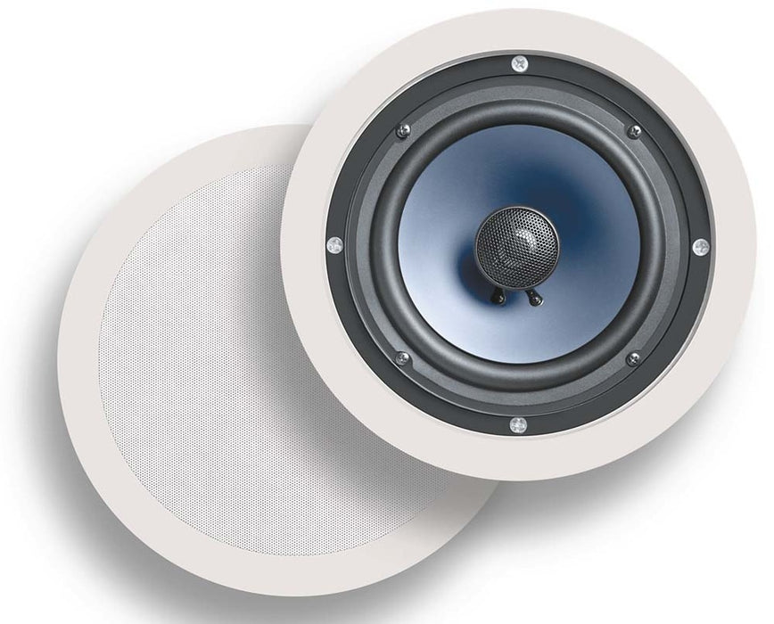 Polk Audio RC-80i In-Ceiling Speaker - Pair - Best Home Theatre Systems - Audiomaxx India