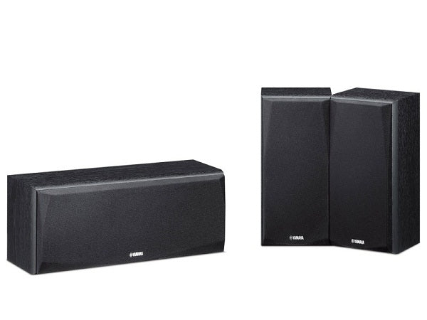 Yamaha NS-P51 Front Bookshelf & Center Speaker 3.0 Package(1 Center With 2 Left + Right Bookshelf Speakers)  # SP067 - Best Home Theatre Systems - Audiomaxx India