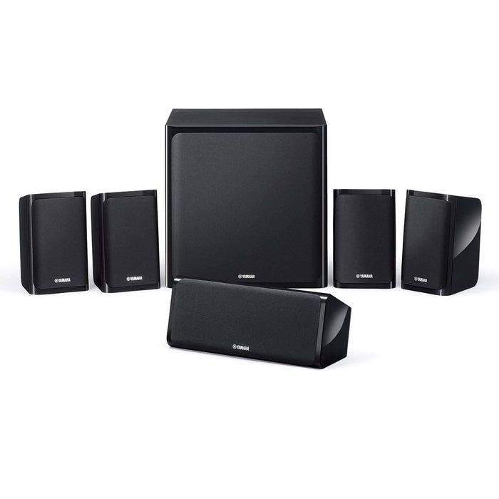 Yamaha YHT-3072 Full Home theater In A Box (HTIB) -  Dolby 5.1 Home Theater Package # AM501006 - Best Home Theatre Systems - Audiomaxx India