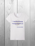 """I Can Read Energy / Energy Doesn't Lie"" / Fun Tee Shirt Design"