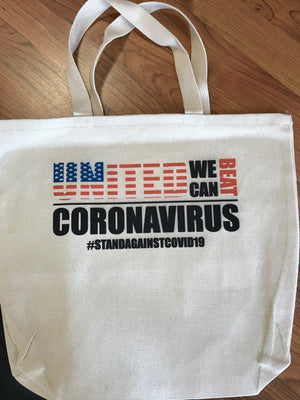 Tote Bag _ Community Fundraiser for those impacted by Covid 19