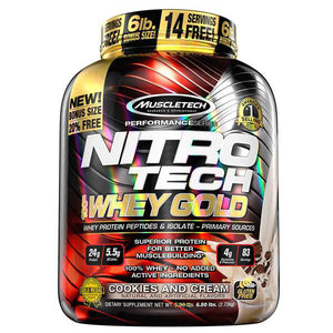 MuscleTech NITRO-TECH 100% Whey Gold 5.5 lbs