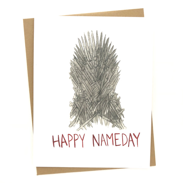 Game of Thrones Birthday// Happy Nameday