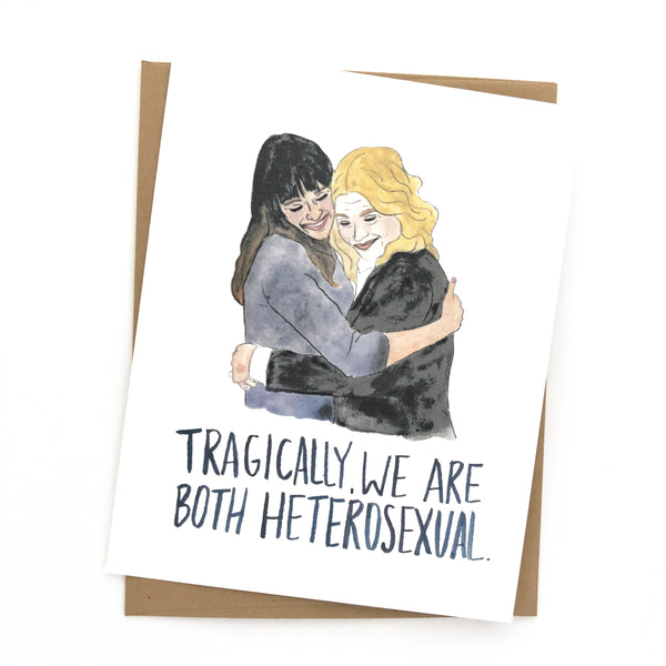 Parks and Rec Card// Leslie & Ann Version 2