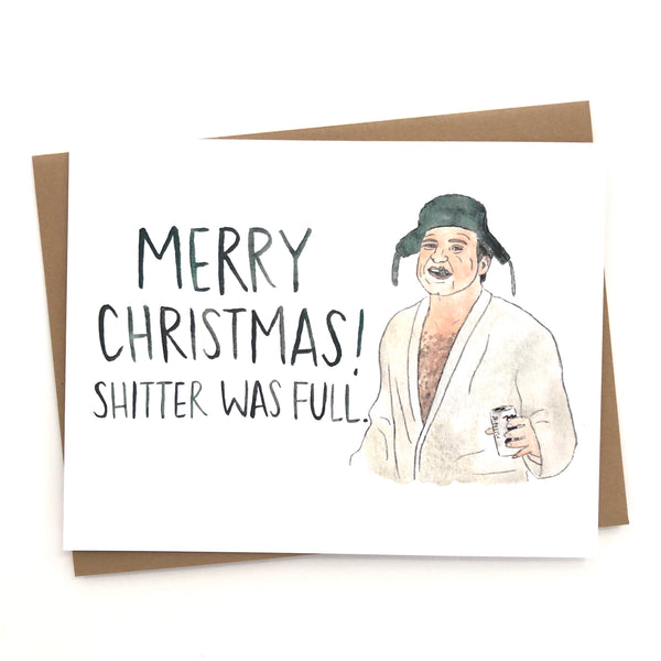Christmas Vacation Card