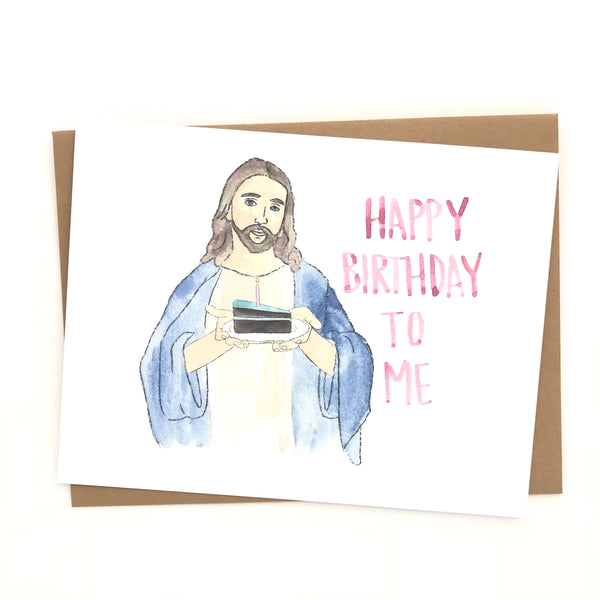 Jesus Birthday // Funny Christmas Card