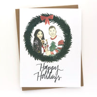 Custom Holiday Cards 20 Pack