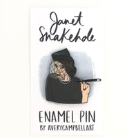 Janet Snakehole // Parks and Rec Enamel Pin