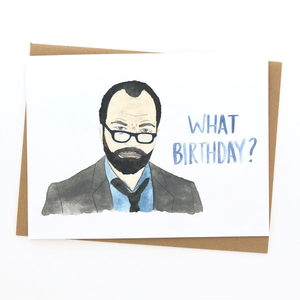 WestWorld // Bernard // Birthday Card