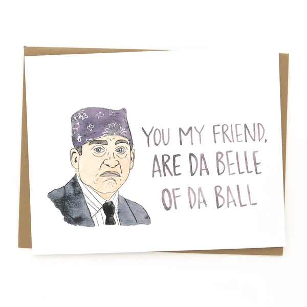 The Office // Prison Mike Card