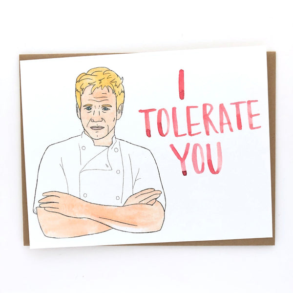 Gordon Ramsay Love Card